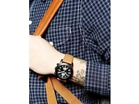 BRAND NEW !!!! MARC BY MARC JACOBS MENS LARRY CHRONOGRAPH WATCH MBM5053 £80
