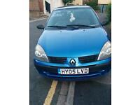 BARGAIN £400 RENAULT CLIO 1249CC LONG MOT.SOME SERVICE HISTORY SEMI AUTO