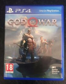 God of War - Sony Playstation 4 Game - Amazing PS4 Action Adventure Fantasy - Like New