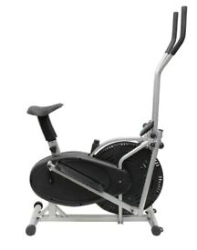 Elliptical Cross Trainer & Bike 2 in 1 Home Workout Cycle Trainer: Ex Sample