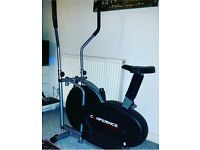 Confidence 2 in 1 Cross Trainer and Exercise Bike