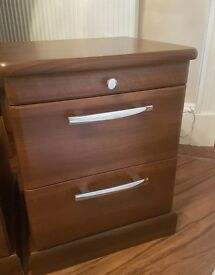 GORGEOUS STRONG WALNUT DRAWERS