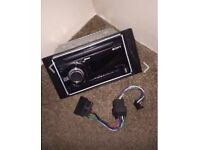 Sony WX-900BT 220W Bluetooth black car stereo