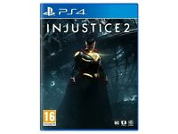 Injustice 2 PS4 USED