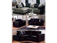 corner or 3plus2 crushed velvet sofa plus many other sofas on offer go thru the pics