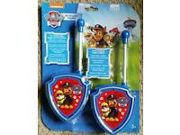 Paw patrol walkie talkie set
