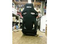 Sparco R333 Reclining Bucket Seats