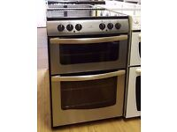 New World 60cm Ceramic Cooker, Double Oven/Grill ( Fan Assisted) - 6 Months Warranty