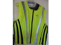 Oxford hi-viz motorcycle reflective vest