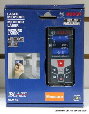 Bosch Blaze 135 Ft. Laser Measurer With Full Color Display - Glm42