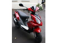 Scooter Longjia lj50qt-k 50cc 2014 year MOT 08/17