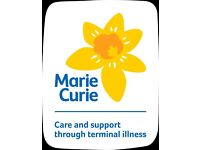 Become a volunteer for Marie Curie