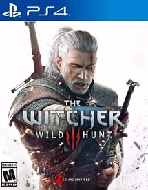 Witcher 3: Wild Hunt for PS4