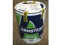 Armstead Trade Smooth Masonry Paint Grey 5L