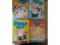 family guy series 1 to 8 boxsets