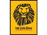 Tickets for Lion King musical - 24/12/2016 - London