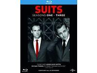 Suits bluray season 1-3