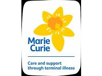Marie Curie's Hoddesdon Fundraising Group are looking for a new Treasurer