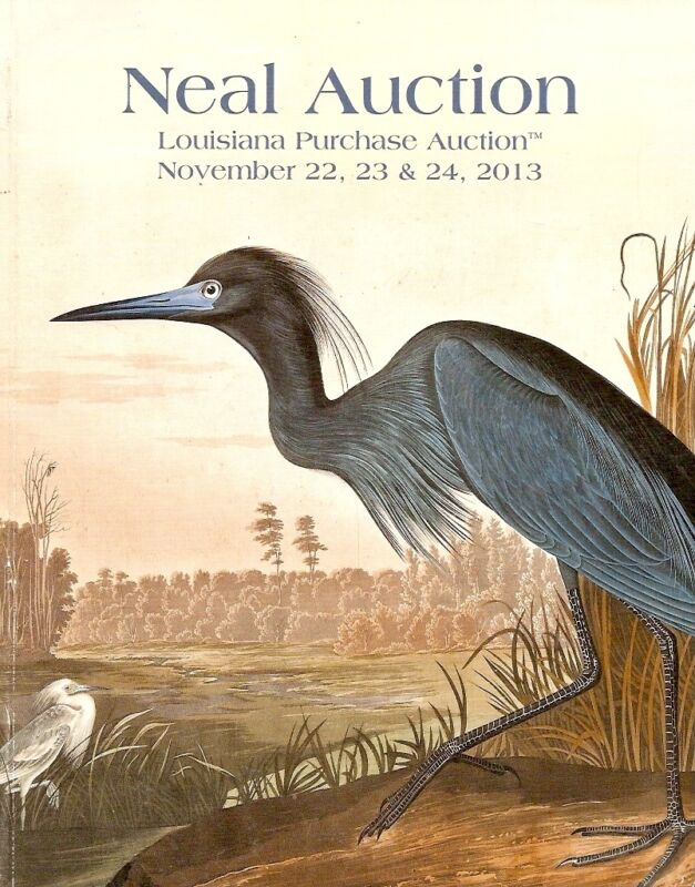 Neal Fine Art & Antiques Decorative New Orleans Auction Catalog November 2013