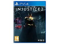 Injustice 2 PS4 GAME BRAND NEW AND SEALED