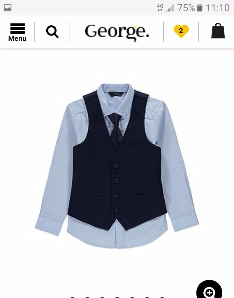 Boys occasion wear