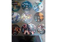 150+ dvds