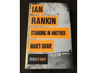 Used, Ian Rankin Standing In Another Man's Grave first edition hand signed hardback for sale  Guildford, Surrey