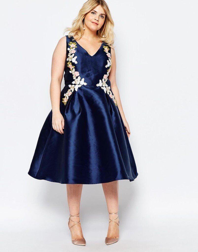 Những kiểu đầm đẹp dành cho người mập