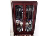 Mahogany Glass-Fronted Cabinet