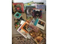 RECORDS OVER A HUNDRED. SOME LP's, 45's and 78's.