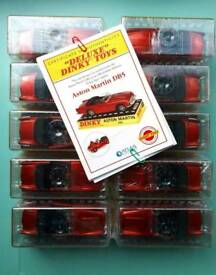 Lot of 10 x DINKY Deluxe Dinky no. 110 Aston Martin DB5 Sealed