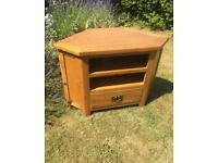 Solid Oak TV Unit / Cabinet / Table