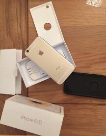 Iphone 6s 128 GB GOLD Unlocked with Original Box