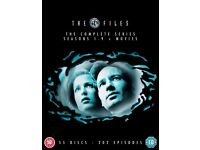 X-FILES! Complete series+movies
