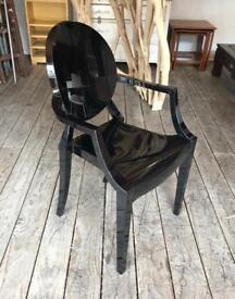 Black Armchair by Kartell