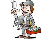 Electrician available for all domestic, commercial and industrial works 10 years experience
