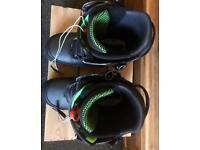 Men's Driver X Snowboard Boots, size 9.5.