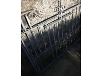 Galvanised drive way gates great condition