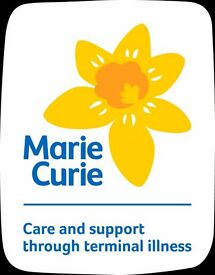Face-to-face sales promotions with Marie Curie £8.50-£10/hr