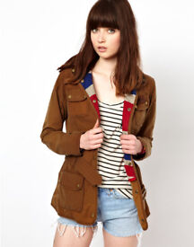 Barbour Vintage International Jacket With Union Jack Lining (Brand New)