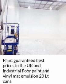 Paint job lot floor paint /masonry/Hi opacity emulsion