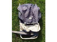 Aluninium framed rucksack