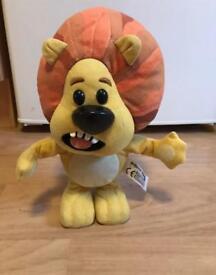 Ra Ra the noisey lion push toy