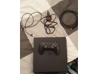 playstation 4 500gb slim in hardly used condition