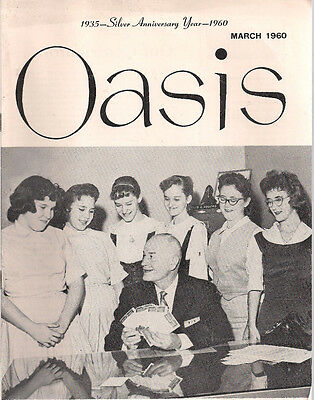 Oasis March 1960 Social Security Administration Newsletter Harry S  Truman Photo