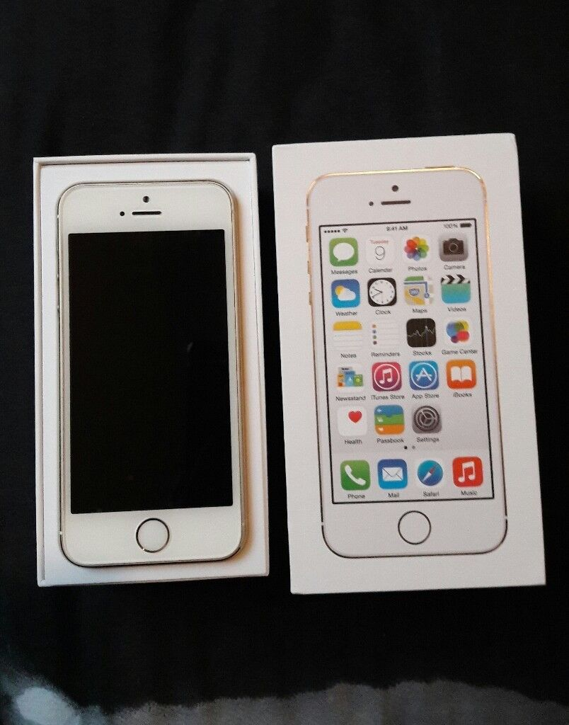 IPHONE 5S GOLD WHITE FOR SALE