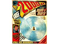 2000ad complete digital comic collection, 10dvd works on pc/macs androids incl comic reader software