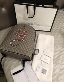 Gucci kingsnake supreme backpack