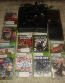 Xbox 360 + 12 games + joypad