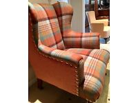 VICTORIAN WING CHAIR